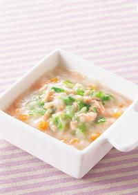 鮭とキャベツのクリーム