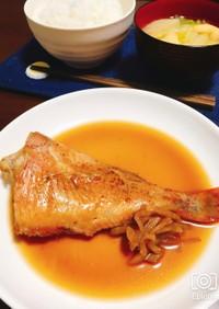 フライパンで簡単!赤魚の煮付け