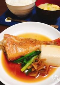 フライパンで簡単!栄養満点赤魚の煮付け
