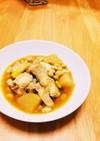 簡単☆*:.手羽元と大豆でほっくり煮物