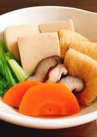 入れて煮るだけ!椎茸出汁の簡単減塩煮物