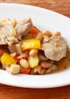 野菜たっぷり☆大豆と塩豚の煮込み