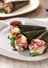 ローストビーフの彩り☆手巻き寿司