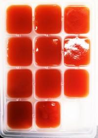 離乳食初期〜カゴメ トマトペーストで