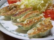 海鮮餃子:餃子のコツの写真