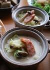 温か白菜の味噌ミルクスープ☆白菜消費に♪