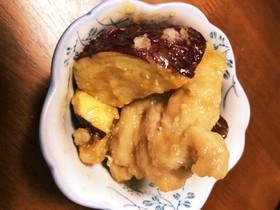 鶏肉とサツマイモの甘酢あんかけ