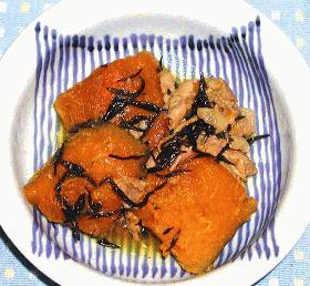 梅ふう味かぼちゃの煮物