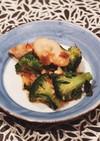 ブロッコリーとちくわの中華煮
