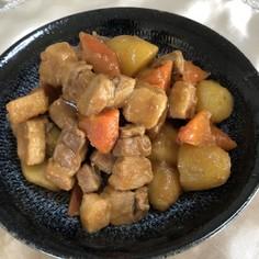 ★豚バラとじゃが芋の炒め煮★