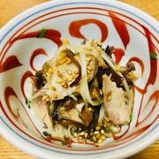 菊芋de塩鯖さっぱり小鉢の写真