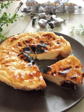 トースターで♪バスク風チーズケーキ 風