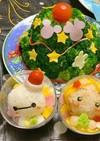 カップdeキャラデコごはん☆サラダツリー