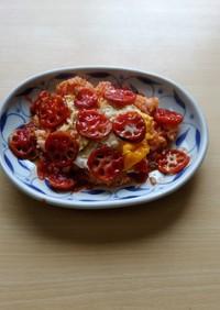 カゴメトマトケチャップレンコンオムライス