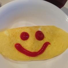 乾麺で作るオムパスタ?うどん