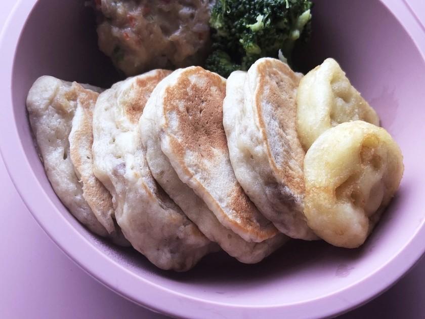 簡単バナナのパンケーキ