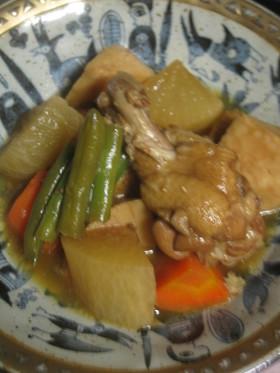 鶏肉と根菜のすっぱ煮