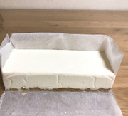 糖質オフのレアチーズケーキの写真