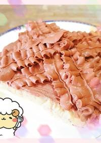 マクロビ☆焼かない雑穀のチョコケーキ