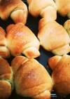 全粒粉を使った塩パン