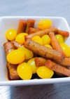 めんつゆで★銀杏とごぼうの煮物