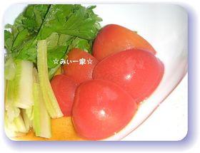 トマトのほんのりバルサミコ風味