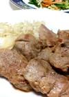 豚ヒレ肉の中華風ステーキ