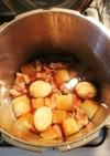 豚ブロックと大根・卵の煮物