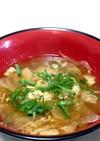 大根と白菜のお味噌汁