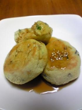 お弁当に@おから豆腐ハンバーグ(卵無し)