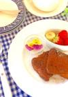 濃厚☆ショコラのフレンチトースト