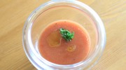 5分で完成!シェフ直伝トマトのガスパチョの写真