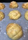 簡単♡食パン&HM de メロンパン♡