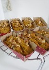 かぼちゃの全粒粉ケーキ