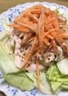 取り分け離乳食にも♪ささみの棒々鶏サラダ