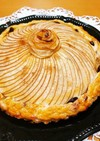 薔薇のスイートポテトアップルパイ