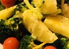ブロッコリー&ジャガイモの塩ゆで温サラダ