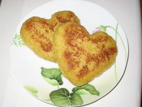 パン粉で!モチモチ☆フレンチトースト