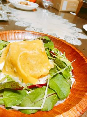 野菜たっぷりオムライス簡単ホワイトソース