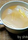 ダシダde生姜たっぷりポカポカ大根スープ
