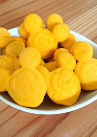 離乳食後期~かぼちゃのソフトクッキー