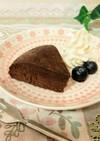 低糖質 炊飯器でチョコレートチーズケーキ