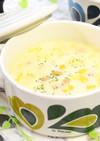 大豆とキャベツの豆乳味噌スープ