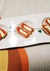 干し柿のバターサンド