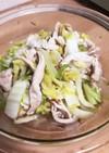 【サラダチキン】と白菜のパパッとお浸し