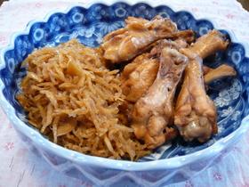 ✿鶏手羽元と切り干し大根の簡単煮物✿