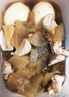 胸肉と大根と卵の甘辛煮(砂糖不使用)