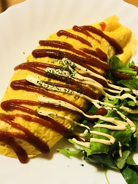 オムライス☆バター&チーズ風味のライスで