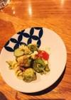 アボカドとマカロニのサラダ