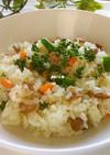 福豆消費に!福豆の洋風炊き込みご飯